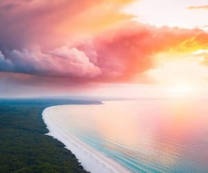 clouds and sand image