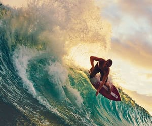 surf, summer, and waves image
