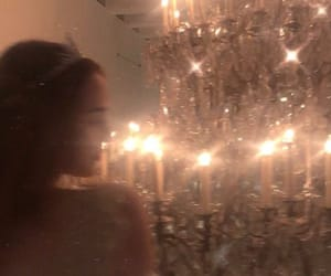 aesthetic, pretty, and chandelier image