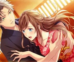 anime, anime girl, and couple image