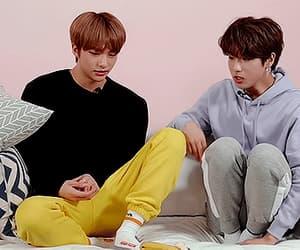 gif, jisung, and hyunjin image