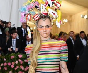 fashion, met gala 2019, and cara delavinge image