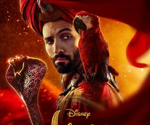aladdin, disney, and poster image