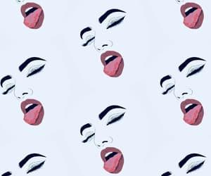 animation, lips, and cartoon image