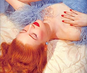 1950s, 50s, and red hair image