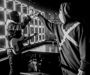 black and withe, bandito, and twenty one pilots image