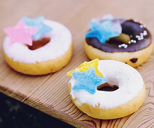 donut, sugar, and sweets image