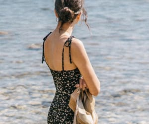 beach, ethereal, and fashion image