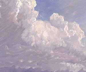 art, clouds, and Frederic Edwin Church image
