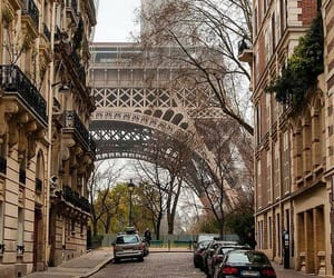 buildings, france, and love image