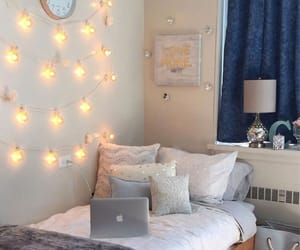 bedroom, inspiration, and dorm image