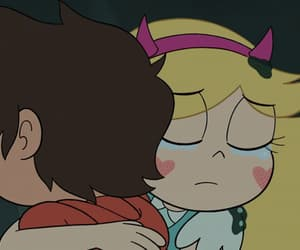 cute couple, star butterfly, and gif image