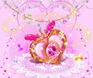pink, pretty, and sparkle image