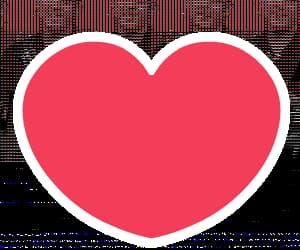 amor, gif, and corazón image