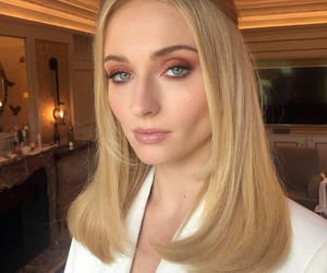 sophie turner, actress, and blonde image