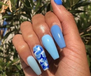 blue, gradient, and camo image