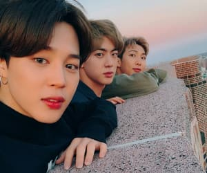 jin, jimin, and rm image