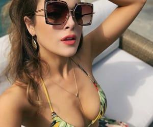 bikini, liz gillies, and bra image