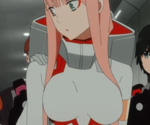 002, zero two, and darling in the franxx image