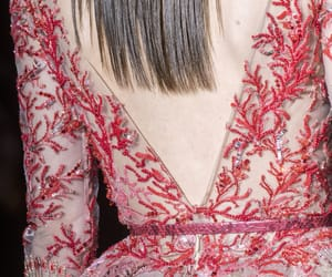haute couture, fashion details, and couture details image