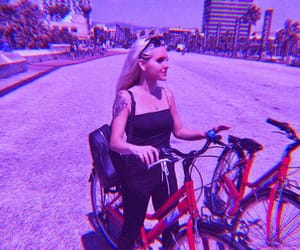aesthetic, bikes, and cute image