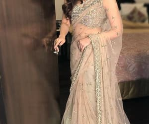 bollywood and saree image