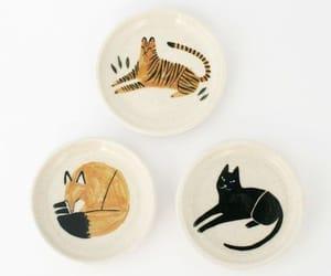 aesthetic, cat, and Ceramic image