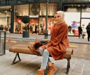 fashion, hijab, and hijabfashion image
