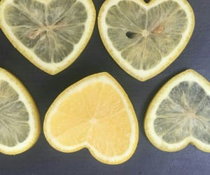 lemon, theme, and heart image
