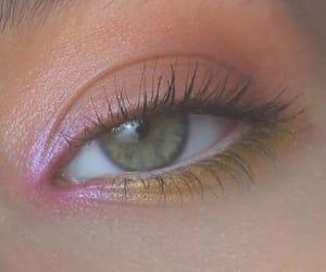 closeup, eyelashes, and eye image