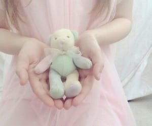 pale, pink, and plush image