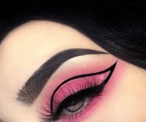 beauty, look, and make up image