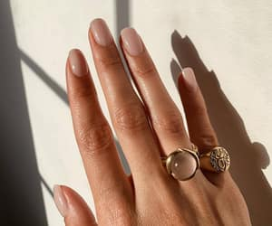 nails, Nude, and accessories image