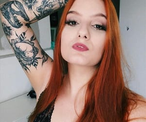 ginger, natasha, and orange hair image