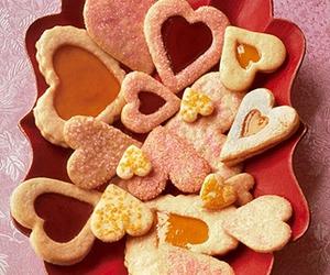 Cookies, valentine, and love image