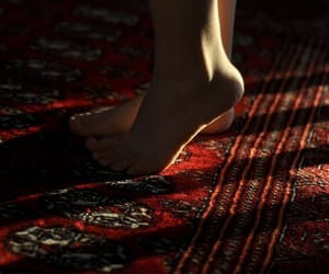red, aesthetic, and carpet image