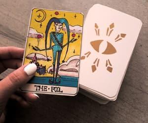 creepy, divination, and tarot image