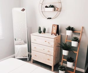 decor, home, and bedroom image