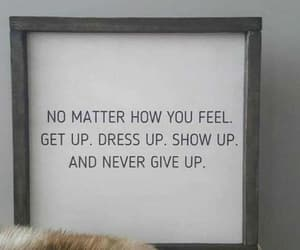 art, motivational, and never give up image