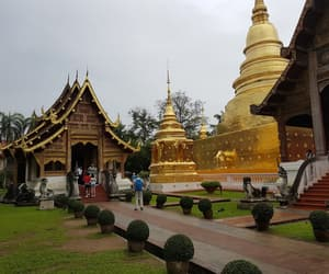 gold, Temple, and thailand image