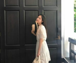 asian, korean, and white image