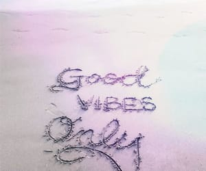 beach, good vibes, and quotes image