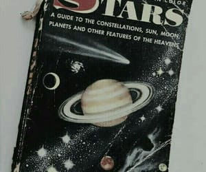 book, stars, and aesthetic image