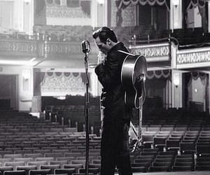Johnny Cash, movie, and music image