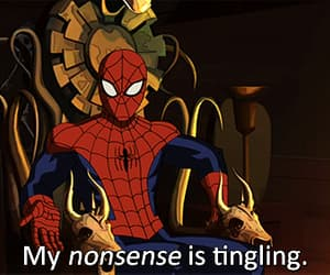 gif, Marvel, and spiderman image