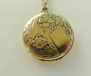 etsy, wedding gift, and locket necklace image