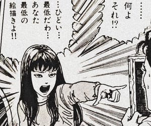 girl, manga, and tomie image