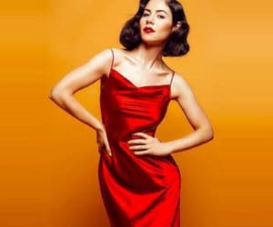 marina and the diamonds and red dress image