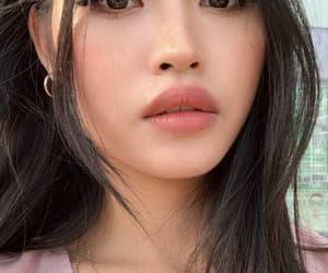 asian girl, beautiful, and kfashion image