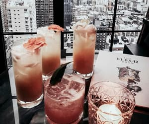 city, cocktail, and drink image